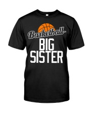 Basketball Big Sister Hoop Sport Gift  Premium Fit Mens Tee tile