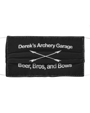 Archery Tshirt Derek's Archery Cloth face mask thumbnail