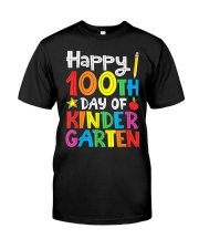 Happy 100th Day of Kindergarten Teac Classic T-Shirt thumbnail
