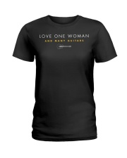 Guitar - Love One Woman and Many G Ladies T-Shirt thumbnail
