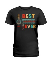 Dad Chords Best Dad Ever Guitar T-S Ladies T-Shirt thumbnail