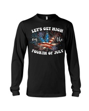 Cannabis Marijuana Weed 4th Of July T- Long Sleeve Tee thumbnail