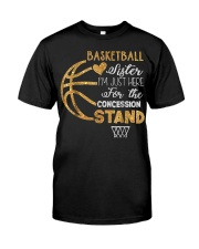 Basketball Sister I'm Just Here for t Classic T-Shirt thumbnail