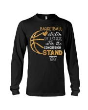Basketball Sister I'm Just Here for t Long Sleeve Tee thumbnail