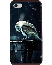 Owl Spirit Art Poster Phone Case thumbnail