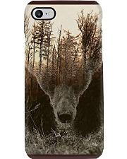 Bear Spirit Art Poster Phone Case thumbnail