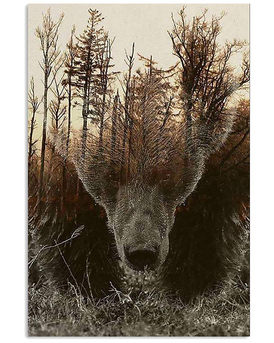 Bear Spirit Art Poster 24x36 Poster