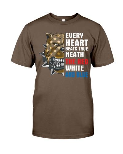 Pitbull every heart beats true neath