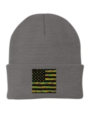 Camouflage Face Mask American Flag Mask -  Knit Beanie front