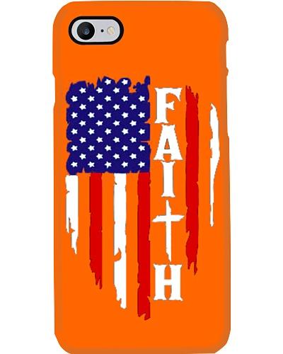 Distressed American Flag Faith wear  Christian God