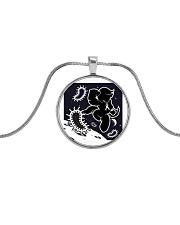 Hero Metallic Circle Necklace thumbnail