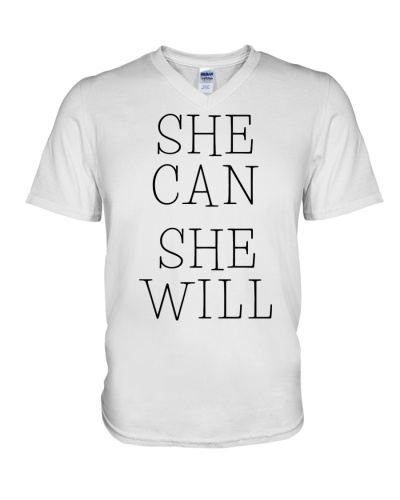 She Can She Will