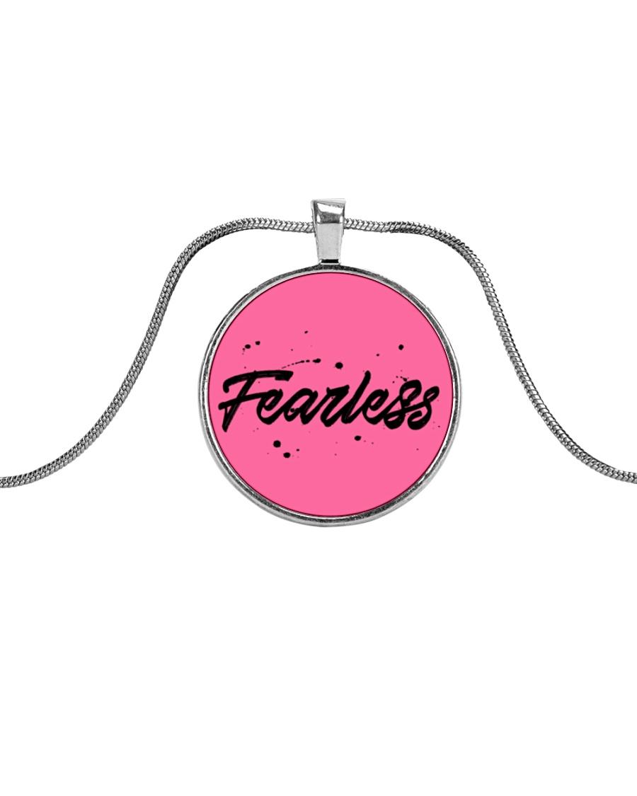 Fearless Metallic Circle Necklace