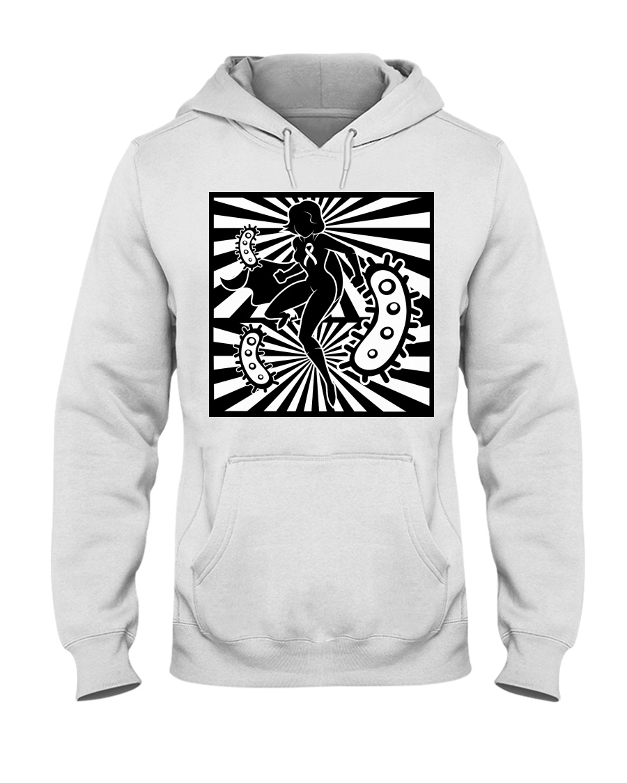 Cancer Battle Hooded Sweatshirt