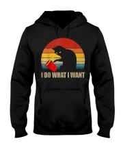 Funny Cat T-shirt Hooded Sweatshirt thumbnail