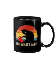 Funny Cat T-shirt Mug thumbnail