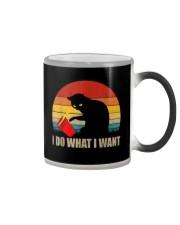 Funny Cat T-shirt Color Changing Mug thumbnail