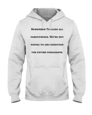 Best Funny Gift For Writers Hooded Sweatshirt thumbnail