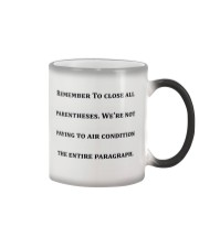 Best Funny Gift For Writers Color Changing Mug thumbnail