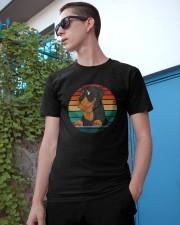 Retro Vintage Rottweiler Classic T-Shirt apparel-classic-tshirt-lifestyle-17