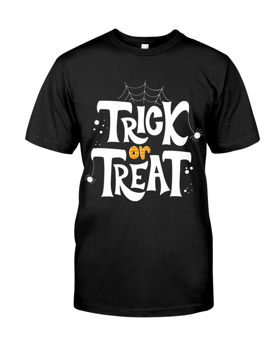 Halloween Shirts Trick or Treat Classic T-Shirt
