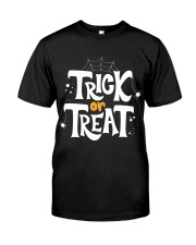 Halloween Shirts Trick or Treat Classic T-Shirt front