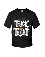 Halloween Shirts Trick or Treat Youth T-Shirt thumbnail