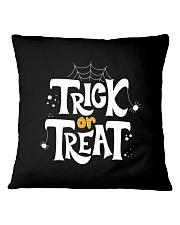 Halloween Shirts Trick or Treat Square Pillowcase thumbnail