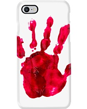Halloween T shirts Bloody Hand Classic Phone Case thumbnail