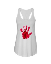 Halloween T shirts Bloody Hand Classic Ladies Flowy Tank thumbnail