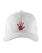 Halloween T shirts Bloody Hand Classic Embroidered Hat thumbnail