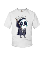 Halloween T shirts Funny Skeleton Youth T-Shirt tile