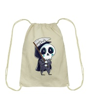 Halloween T shirts Funny Skeleton Drawstring Bag thumbnail