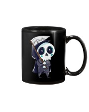 Halloween T shirts Funny Skeleton Mug tile