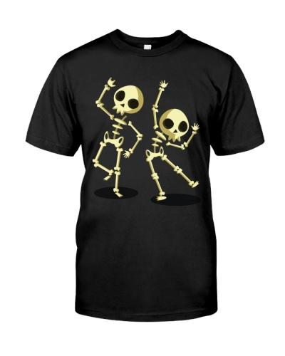 Halloween T shirts Dancin Skeleton Classic T-Shirt