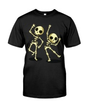 Halloween T shirts Dancin Skeleton Classic T-Shirt Classic T-Shirt tile