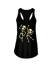 Halloween T shirts Dancin Skeleton Classic T-Shirt Ladies Flowy Tank thumbnail