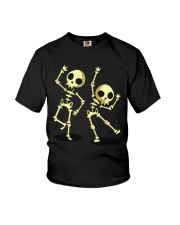 Halloween T shirts Dancin Skeleton Classic T-Shirt Youth T-Shirt thumbnail