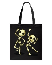 Halloween T shirts Dancin Skeleton Classic T-Shirt Tote Bag thumbnail