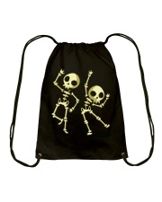 Halloween T shirts Dancin Skeleton Classic T-Shirt Drawstring Bag thumbnail