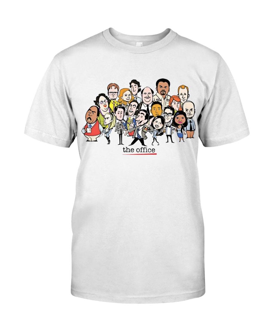 The Office Cartoons Character shirt Classic T-Shirt