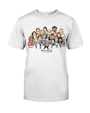 The Office Cartoons Character shirt Classic T-Shirt front