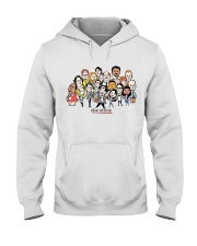 The Office Cartoons Character shirt Hooded Sweatshirt thumbnail