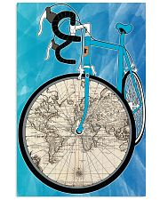 WORLD MAP BIKE  11x17 Poster front