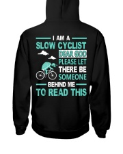 SLOW CYCLIST Hooded Sweatshirt tile