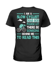 SLOW CYCLIST Ladies T-Shirt thumbnail