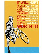 SLOW CYCLIST Vertical Poster tile