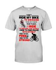 I DON'T RIDE MY BIKE TO WIN RACES Premium Fit Mens Tee thumbnail