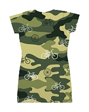 Cycling Camouflage  All-over Dress back