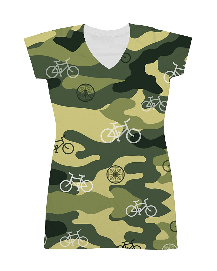 Cycling Camouflage  All-over Dress